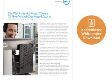 Sicher und günstiger mit Desktop Virtualisierung