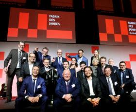 """""""Fabrik des Jahres"""": Produktionsspitze in Ludwigsburg ausgezeichnet / Startup aus Dresden gewinnt Sonderpreis"""