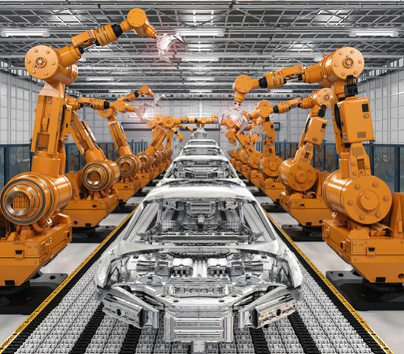 Einsatz von Robotik in Automobilproduktion