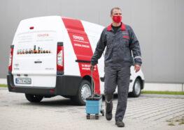 """""""Sicher gegen Corona"""" – Toyota Material Handling erhält Qualitätssiegel des TÜV Hessen"""