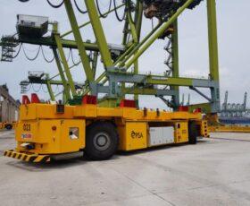 Der größte Containerumschlagplatz der Welt setzt auf Technologie von Stäubli